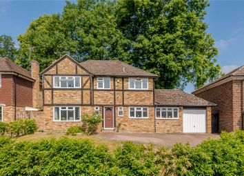Thumbnail 4 bed detached house for sale in Newark Road, Windlesham, Surrey