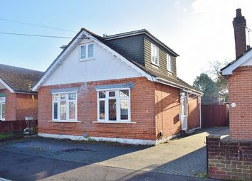 Thumbnail 3 bed detached bungalow for sale in Mayfield Avenue, Totton, Southampton, Hampshire