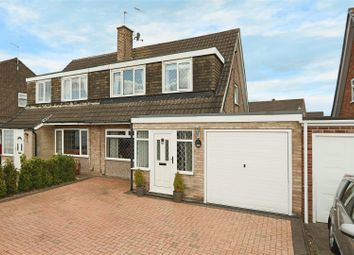 Thumbnail 3 bed semi-detached house for sale in Darlton Drive, Arnold, Nottingham
