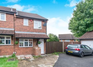 Thumbnail 2 bed end terrace house for sale in Hardy Close, Chatham