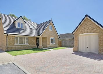 Thumbnail 4 bed detached house for sale in St. Giles Close, Holme, Peterborough