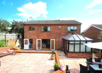 Thumbnail 3 bed detached house for sale in Bambrook Close, Desford, Leicester
