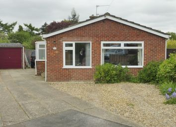Thumbnail 3 bed detached bungalow for sale in Hawthorn Close, Wymondham
