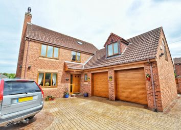 Thumbnail 6 bed detached house for sale in Woodland Villas, Cemetery Road, Grimethorpe, Barnsley