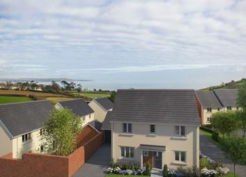 Thumbnail 4 bed detached house for sale in Holcombe Road, Holcombe, Dawlish