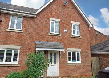Thumbnail 3 bed town house for sale in Merlin Close, Rothley, Leicestershire