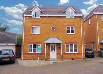 Thumbnail 4 bed detached house for sale in Haddon Close, Syston, Leicester