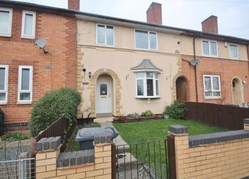 Thumbnail 3 bed terraced house for sale in Morcote Road, Braunstone, Leicester