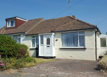 Thumbnail 2 bed semi-detached bungalow for sale in Sedbury Road, Sompting, Lancing
