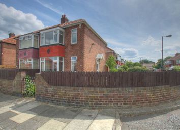 Thumbnail 3 bedroom semi-detached house for sale in Druridge Drive, Fenham, Newcastle Upon Tyne