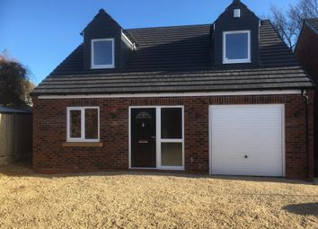 Thumbnail 4 bed detached bungalow for sale in Cowper Rise, Worksop
