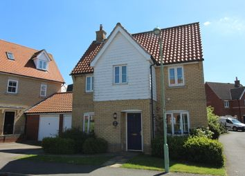 Thumbnail 4 bed detached house for sale in Redwing Drive, Stowmarket