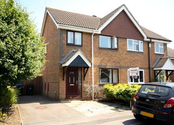 Thumbnail 3 bed semi-detached house to rent in Bloomfield Close, Knaphill, Woking