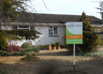 Thumbnail 3 bed detached bungalow to rent in Sarum Way, Calne