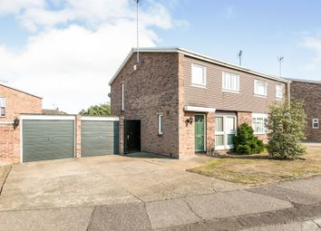 Thumbnail 3 bed semi-detached house for sale in Carlisle Close, Colchester