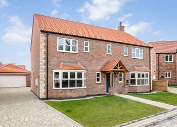 Thumbnail 5 bed detached house for sale in Thorne Lane, Scothern, Lincoln