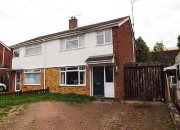 Thumbnail 3 bed semi-detached house for sale in Sandwich Road, St. Neots, Cambridgeshire