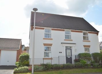 Thumbnail 4 bed detached house for sale in Cambridge Way, Cullompton
