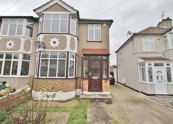 Thumbnail 3 bed end terrace house to rent in Belgrave Avenue, Gidea Park, Romford