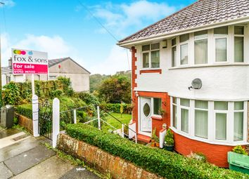 Thumbnail 3 bed semi-detached house for sale in Cardinal Avenue, St Budeaux, Plymouth