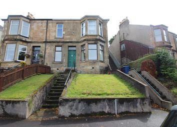 Thumbnail 2 bed flat for sale in Brachelston Street, Greenock