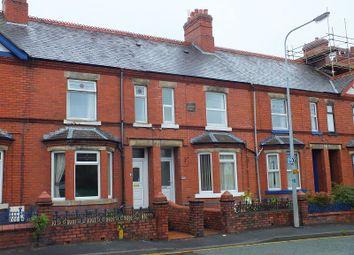Thumbnail 3 bed terraced house to rent in Llangollen Road, Acrefair, Wrexham