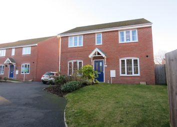 Thumbnail 4 bed detached house for sale in Kerry Close, Clipstone Village, Mansfield