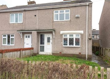 Thumbnail 2 bed semi-detached house for sale in Wharrier Square, Wheatley Hill, Durham, County Durham