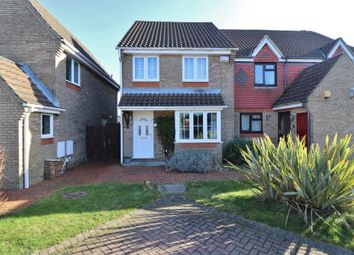 Thumbnail 3 bed semi-detached house to rent in Stroudly Way, Hedge End, Southampton, Hampshire