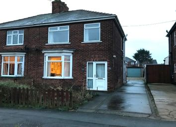 Thumbnail 3 bed semi-detached house for sale in Milton Road, Scunthorpe