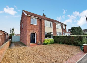 Thumbnail 3 bed semi-detached house for sale in Parana Road, Sprowston, Norwich