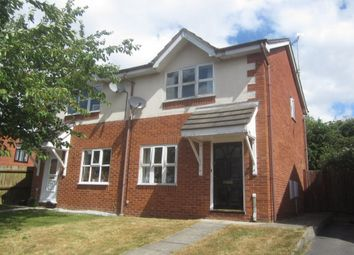 Thumbnail 2 bed semi-detached house for sale in Fairbrook, Wistaston, Crewe