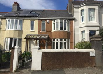 Thumbnail 3 bed terraced house to rent in Hermitage Road, Plymouth