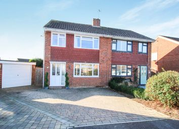 Thumbnail 3 bed semi-detached house for sale in Ashurst Close, Horsham, West Sussex