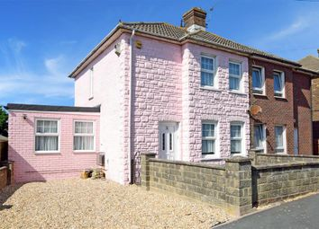 Thumbnail 3 bed semi-detached house for sale in Glynde Road, Brighton, East Sussex