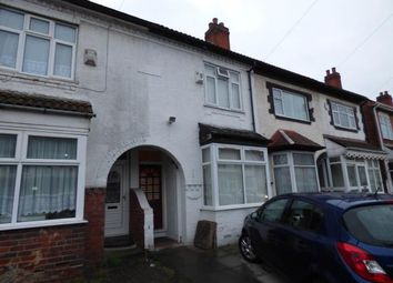 Thumbnail 3 bed terraced house for sale in Bromyard Road, Sparkhill, Birmingham, West Midlands
