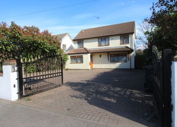 Thumbnail 5 bedroom detached house for sale in Main Road, Sutton At Hone, Dartford