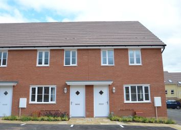 Thumbnail 3 bed terraced house for sale in Greystone Walk, Cullompton, Devon