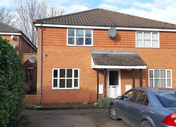 Thumbnail 1 bed flat for sale in Denham Close, Bury St. Edmunds