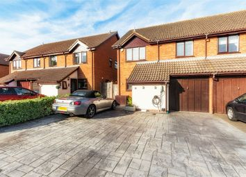 Thumbnail 4 bed semi-detached house for sale in Gregory Drive, Old Windsor, Berkshire