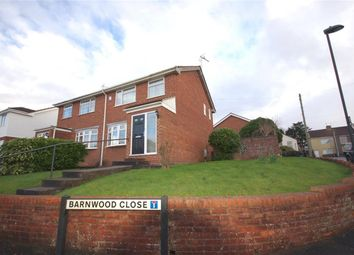 Thumbnail 3 bed semi-detached house for sale in Barnwood Close, Kingswood, Bristol