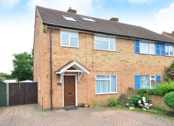 Thumbnail 5 bed semi-detached house to rent in Hillside Close, Knaphill