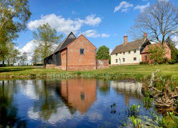 Thumbnail 4 bed farmhouse for sale in St. Nicholas South Elmham, Harleston