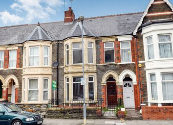 Thumbnail 4 bed terraced house for sale in Lochaber Street, Roath, Cardiff