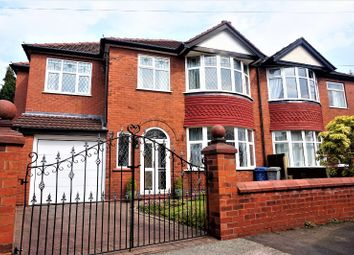Thumbnail 5 bed semi-detached house for sale in Truro Avenue, Manchester