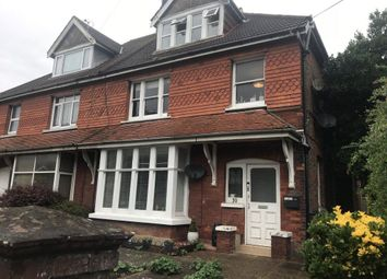 Thumbnail 1 bed flat to rent in Cowper Road, Worthing