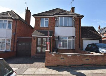 Thumbnail 3 bed detached house for sale in Byway Road, Leicester