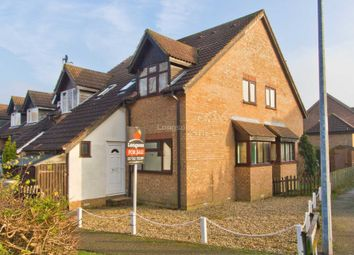 Thumbnail 1 bedroom town house for sale in Brussels Close, Dereham