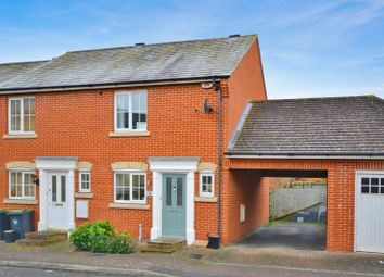 Thumbnail 2 bed semi-detached house for sale in Durand Lane, Flitch Green, Dunmow, Essex