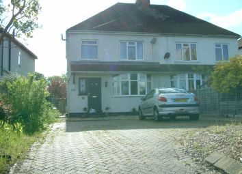 Thumbnail 3 bedroom semi-detached house to rent in Newton Road, Bletchley, Milton Keynes